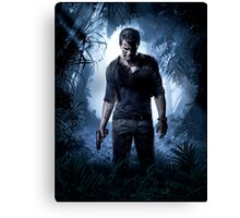 UNCHARTED 4 GAME Canvas Print