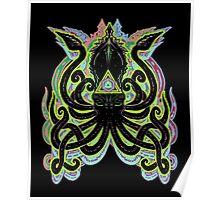 Neon Kraken Poster