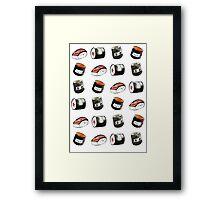 Squishable Sushi set! Framed Print
