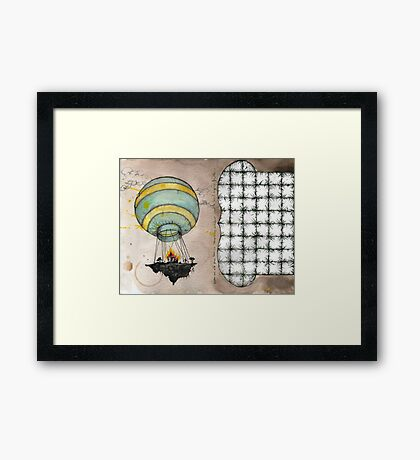 air lift Framed Print