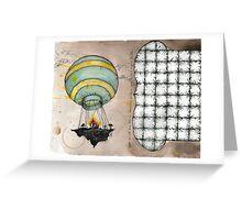 air lift Greeting Card