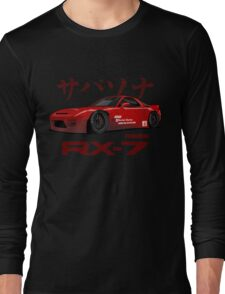 red RX-7 performance Long Sleeve T-Shirt