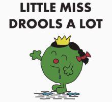 Miss Drools a Lot Kids Tee
