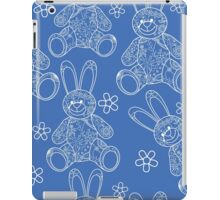Seamless pattern with buny toys iPad Case/Skin