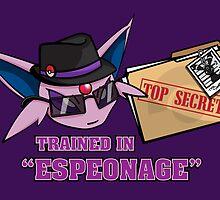 Espeonage (Pokemon) by PixelStampede