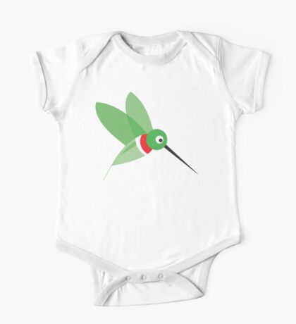 Hummingbird One Piece - Short Sleeve