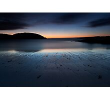 achmelvich beach sunset Photographic Print