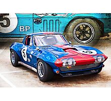 1965 Corvette Front Photographic Print