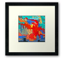 Overshadowing faith Framed Print