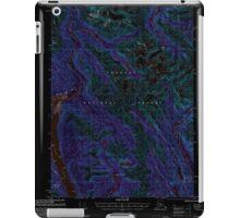 USGS TOPO Map Alaska AK Bradfield Canal A-1 354711 2000 63360 Inverted iPad Case/Skin