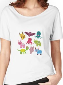 Cartoon monsters Women's Relaxed Fit T-Shirt