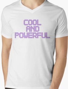Cool and Powerful - Pastel Mens V-Neck T-Shirt