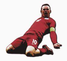 Wayne Rooney - Captain England Baby Tee