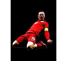 Wayne Rooney - Captain England Photographic Print