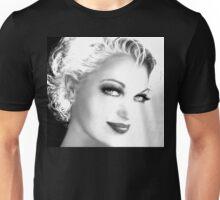 Black and White SMILE Unisex T-Shirt