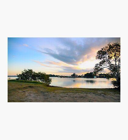 Yamba @ Sunset NSW Australia Photographic Print