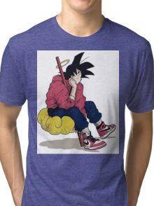 Goku cloud Tri-blend T-Shirt