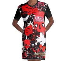 Love and Death  Graphic T-Shirt Dress