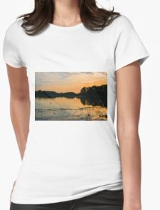 Bombay Sunset Womens Fitted T-Shirt