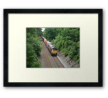 DB Schenker 66025 at Sutton Park Framed Print