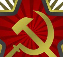 Soviet Hammer and Sickle Sticker