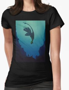 Lugia... Womens Fitted T-Shirt