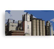 Mill, Digitally Enhanced Canvas Print