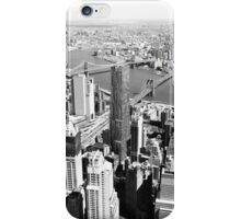 NYC (B&W) iPhone Case/Skin