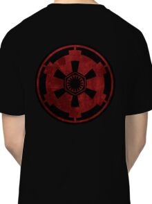 galactic empire and first order emblem Classic T-Shirt