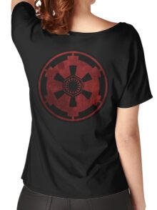 galactic empire and first order emblem Women's Relaxed Fit T-Shirt