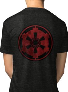 galactic empire and first order emblem Tri-blend T-Shirt