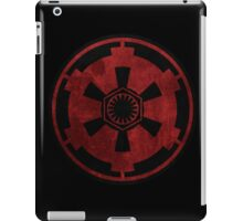 galactic empire and first order emblem iPad Case/Skin