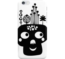 Funny skull. iPhone Case/Skin