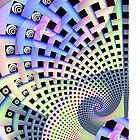 Spirals and Plaiting, abstract patterns case by walstraasart