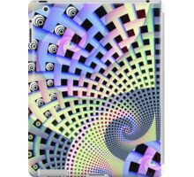 Spirals and Plaiting, abstract patterns case iPad Case/Skin