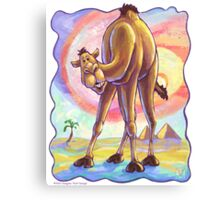 Animal Parade Camel Canvas Print