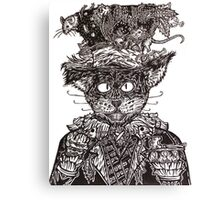 Mad Catter Canvas Print
