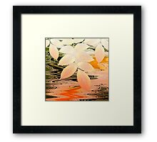 Stream Melody Framed Print