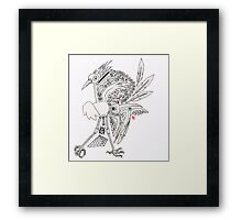 Magic Telephone Framed Print
