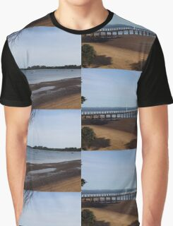 Sun, sand, beach Graphic T-Shirt