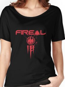 Fireal Girly Fit Women's Relaxed Fit T-Shirt