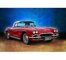 Little Red Corvette Photographic Print