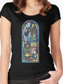 Church Of Geek Women's Fitted Scoop T-Shirt