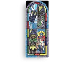 Church Of Geek Canvas Print