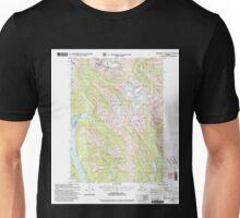 USGS TOPO Map Alaska AK Bradfield Canal A-1 354711 2000 63360 Unisex T-Shirt