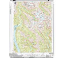 USGS TOPO Map Alaska AK Bradfield Canal A-1 354711 2000 63360 iPad Case/Skin