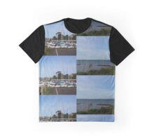 Boats in Harbour No.2 Graphic T-Shirt