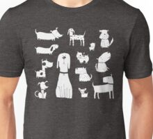 dog - grey Unisex T-Shirt