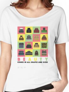 Beauty Comes in All Shapes and Sizes Women's Relaxed Fit T-Shirt
