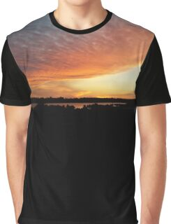 Sunset over Water Graphic T-Shirt